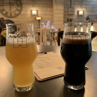 Double Barrelled Beers to taste in taproom