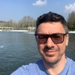 Me at Mapledurham Weir