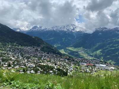 View over Verbier